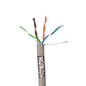 کابل شبکه CAT6 SFTP CCA بلدن طول ۳۰۵ متر