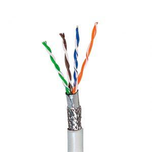 کابل شبکه CAT6 SFTP برندرکس تست فلوک طول ۵۰۰ متر